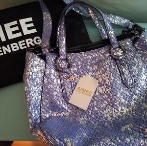 NEW Aimee Kestenberg Pierre Satchel Bag $268